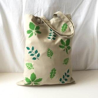 Hanprinted Tote Bag